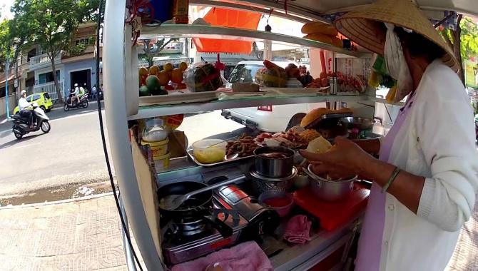 Вьетнамские сэндвичи.