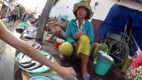 Уличный рыбный рынок. Вьетнам. Вунгтау.