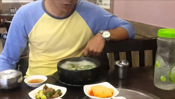 Корейская кухня. Южная Корея. Сеул