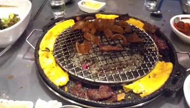 Мясной ресторан и как корейцы записывают количество заказанных блюд