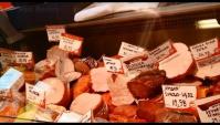 Цены На Продукты в Польше копченая рыба, Мясо, яйцо