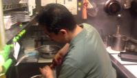 Японская кухня. Мацущима-сан готовит холодное спагетти
