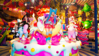 Kawaii Monster Cafe в Токио, Харадзюку - Видео