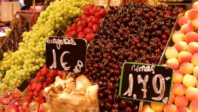 Отдых в Барселоне - продуктовый базар
