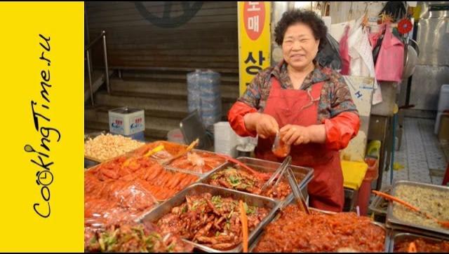 Где поесть вкусно и недорого в Сеуле - Рынок Кванчжан