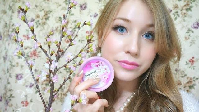Японское мороженное со вкусом сакуры - Видео