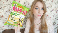 Картофельные Чипсы с Васаби - Видео
