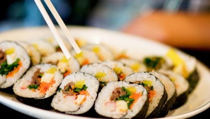 Суши по корейски или универсальный кимбаб - Видео-рецепт