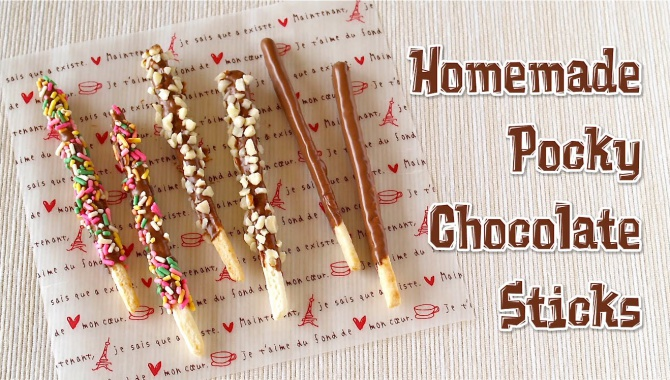 Сладкие палочки Pocky - Рецепт