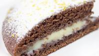 Шоколадный пирог с кремом - Видео-рецепт