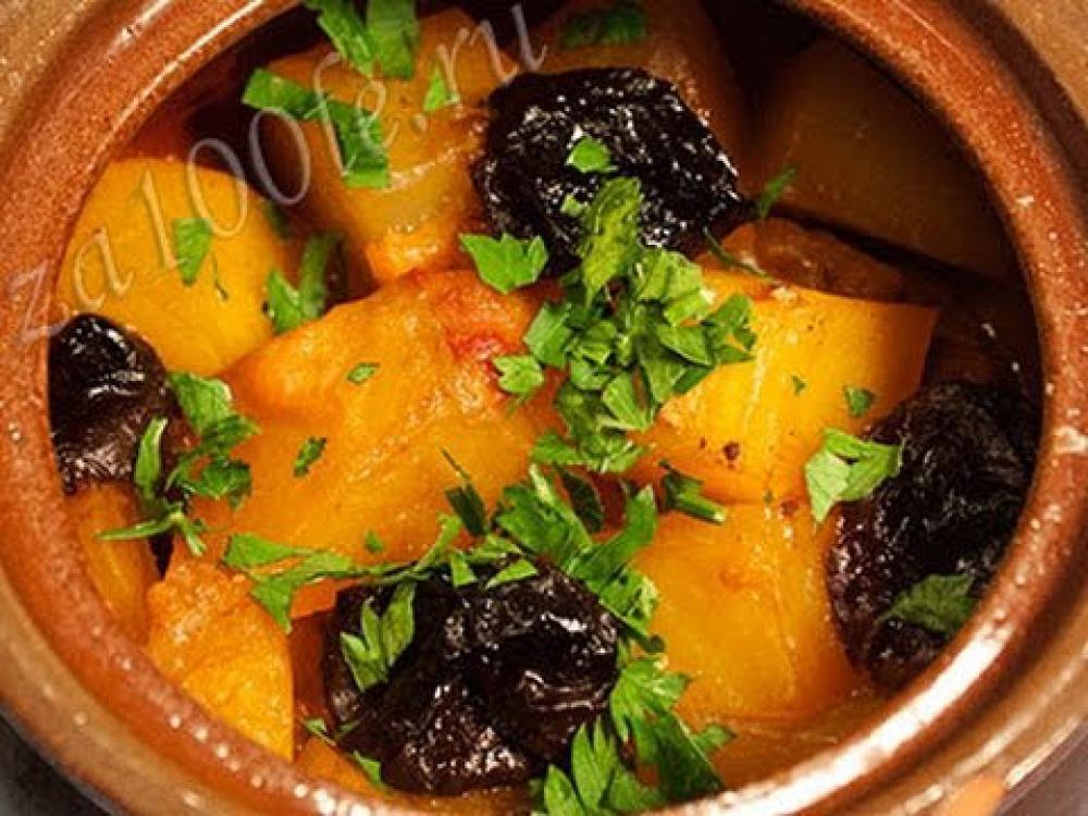 Рецепт баранины в горшочке с картошкой