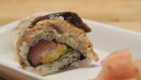 Нагоя ролл. Как сделать суши. Японская кухня.