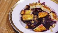 Салат со свеклой и сыром - Видео-рецепт