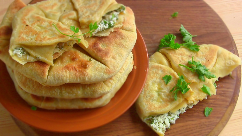 Узбекские лепешки с сыром рецепт