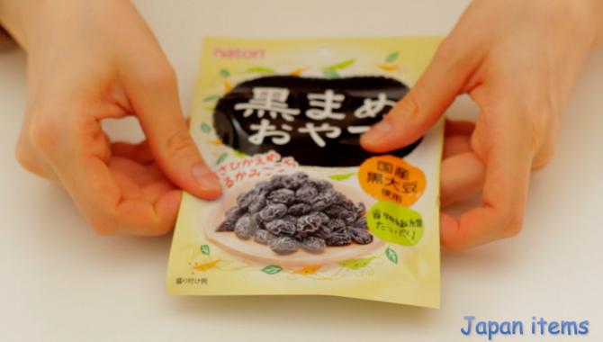 Черные соевые бобы Куромамэ - Видео