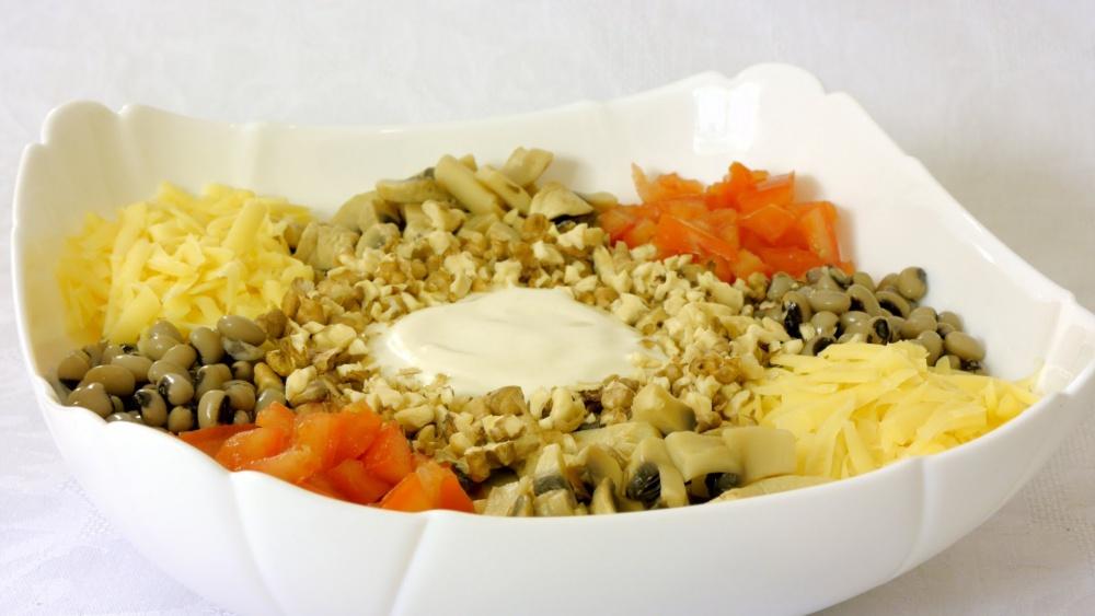 Салат куриный с сыром рецепт пошаговый 198