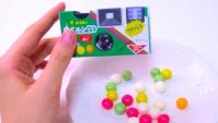 Фотокамера с конфетами внутри - Видео