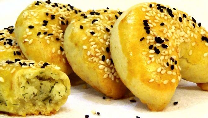 Пирожки с картофелем Подковки - Видео-рецепт