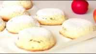 Пирожки песочные с яблоками - Видео-рецепт