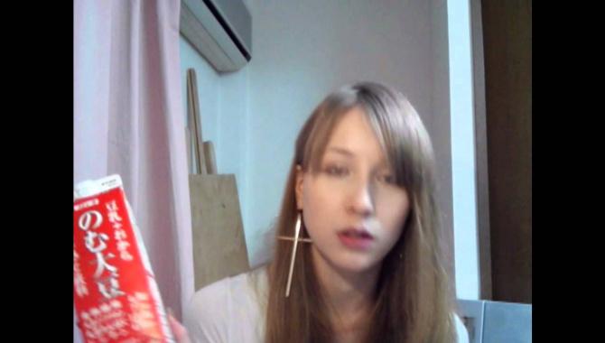 Японские продукты из сои - Видео