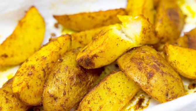 Картофель запеченный со специями - Видео-рецепт