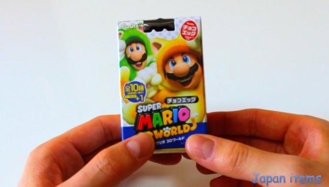 Шоколадное Яйцо с Марио - Видео