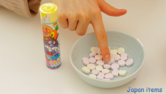 Рамуне конфеты Анпанман - Видео