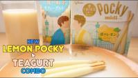 Новый лимонный Pocky и чай со вкусом йогурта Teagurt - Видео