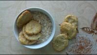 Творожное печенье с овсянкой