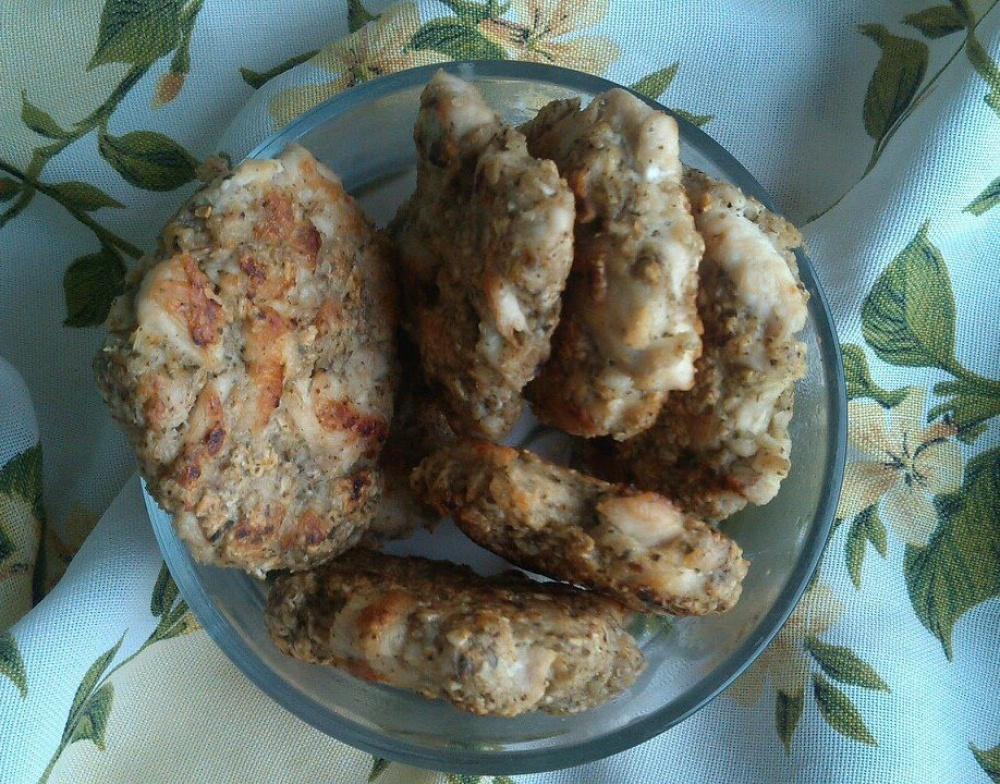 рубленные куриные котлетки рецепт с фото