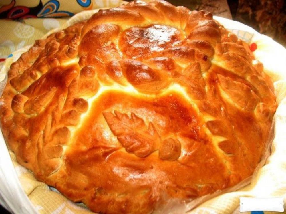 Пирог курник фото