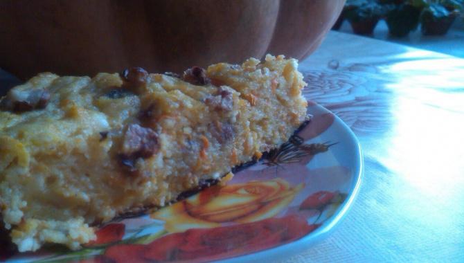 Блюда из тыквы: сладкая запеканка без сахара