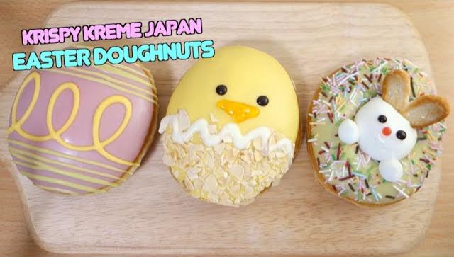 Пасхальные пончики от Krispy Kreme - Видео