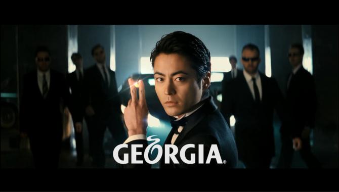 Японская Реклама - GEORGIA The Premium