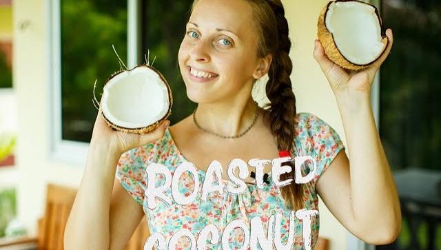 Жареный кокос - Видео-рецепт