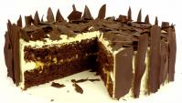 Торт шоколадно-карамельный - Видео-рецепт