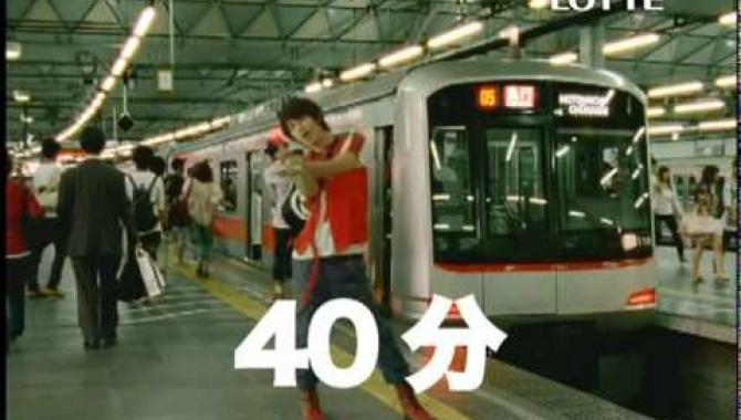 Японская Реклама - Lotte - Fits LINK
