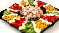 Праздничный салат за 10 минут - Видео-рецепт