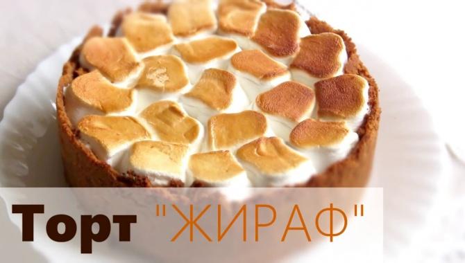 Шоколадный торт Жираф - Видео-рецепт