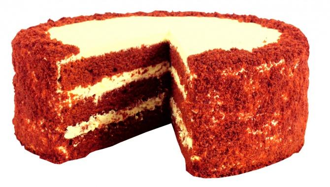 Торт Красный бархат - Видео-рецепт