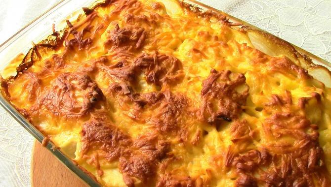 Картофель с мясом по-французски - Видео-рецепт