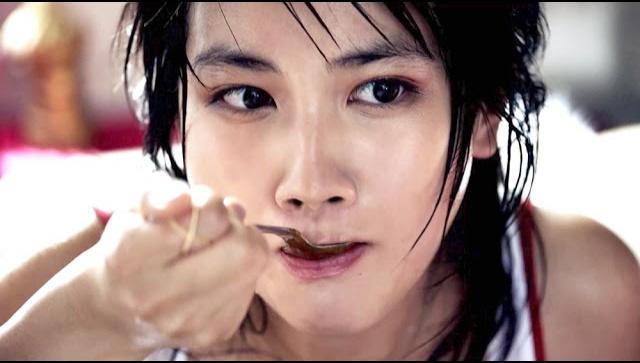 Японская Реклама - Glico - Beef Сurry LEE