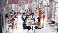 Японская Реклама - Mister Donut - Cotton Snow Candy