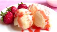 Домашнее мороженое из трёх ингредиентов - Видео-рецепт