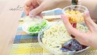 Японская еда. Холодная лапша с соусом (Видео)