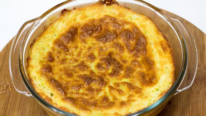 Запеканка из кабачков с плавленым сыром - Видео-рецепт