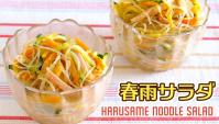 Салат с лапшой Харусамэ - Видео-рецепт