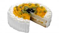 Торт с фруктами - Видео-рецепт