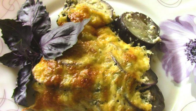 Баклажаны под сметанным соусом - Видео-рецепт