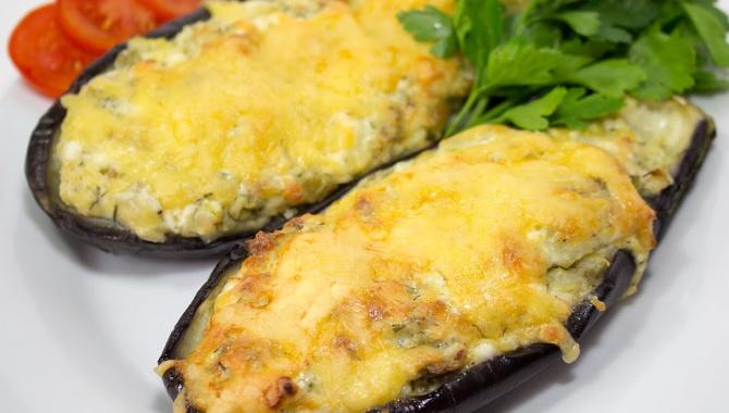 Баклажаны запеченные с сыром - Видео-рецепт